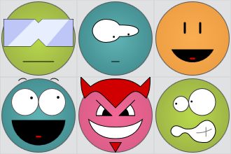 gridcup smilies